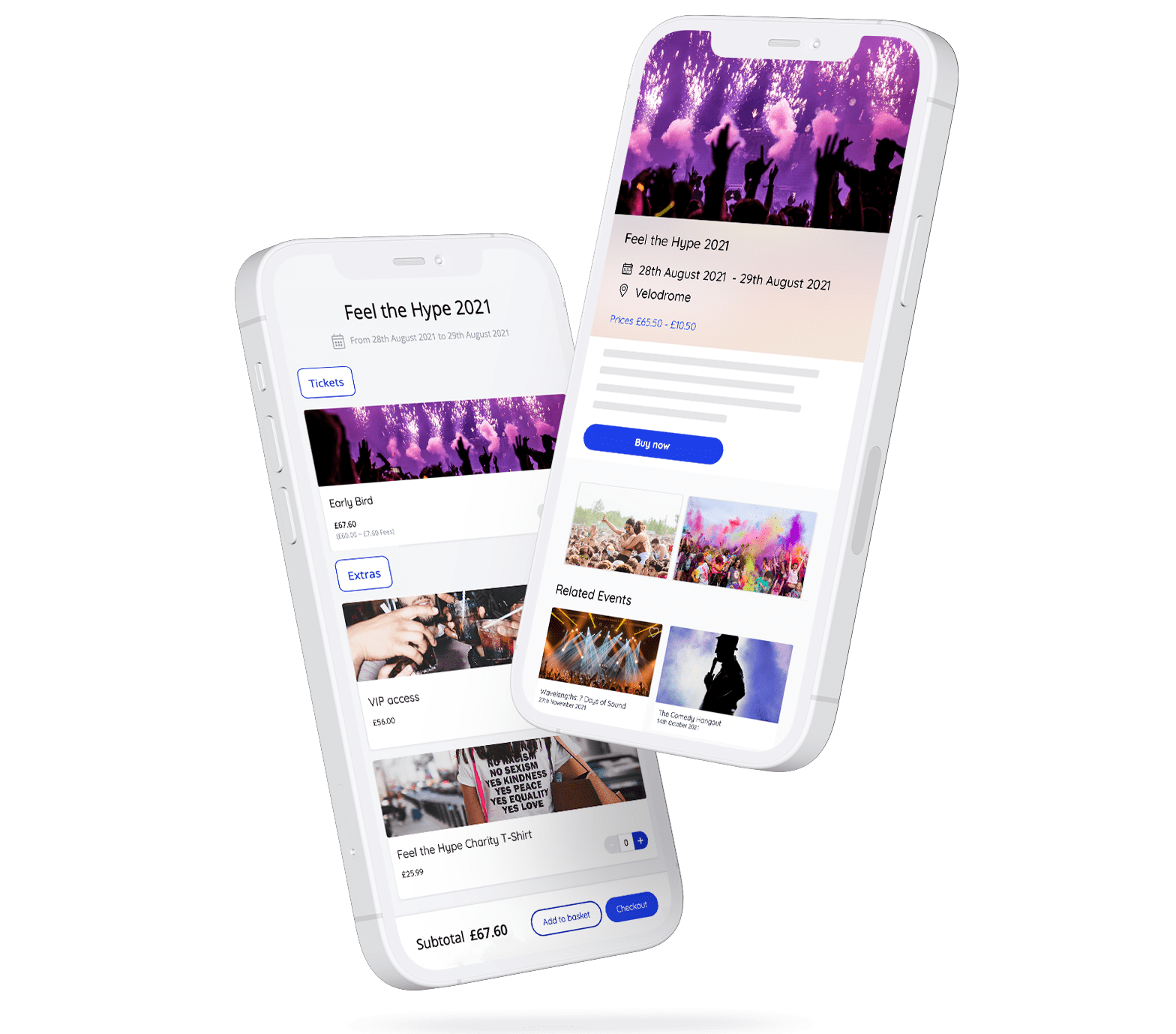 Sell tickets online from any device
